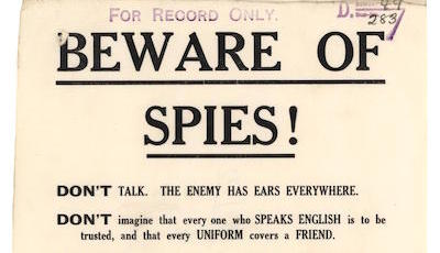 beware of spies slideshow